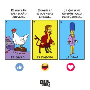 El gallo / El diablito / La dama