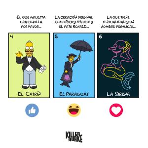 El catrín / El paraguas / La sirena