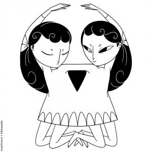 Muertos hermanas calaveras