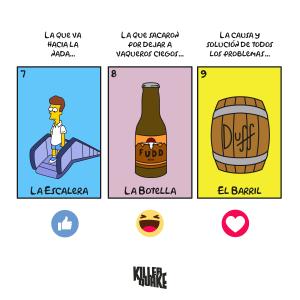 La escalera / La botella / El barril