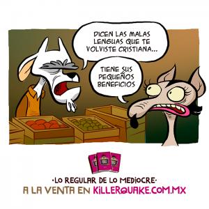 La tuya en vinagre – malas lenguas