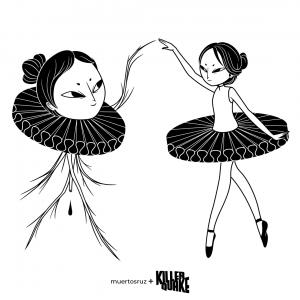 Muertos bailarinas