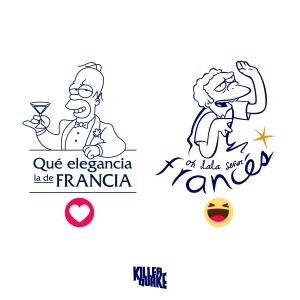 Qué elegancia la de Francia / Ohlalá señor francés