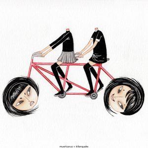 Muertos bicicleta