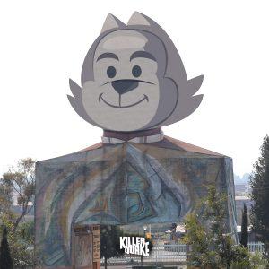 Monumento Cabeza de Benito Juárez