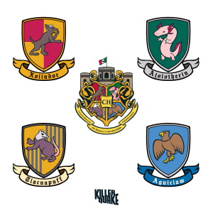 Escudos Colegio de magia