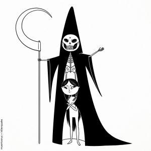 Muertos disfraces