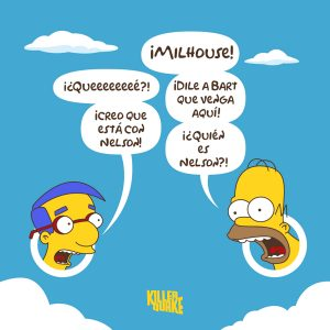 ¡Milhouse!