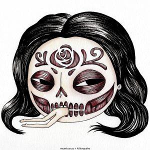 Muertos cara de rosa